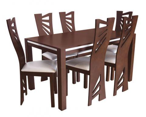 c7de2af2b4d6 Moderný kuchynský stôl a 6 stoličiek - vhodný aj do bytu